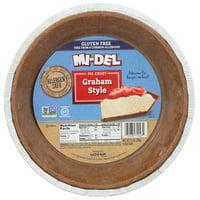 Mi-Del Gluten,Free Graham Style Pie Crust, 7.1 Oz, Pack Of 12