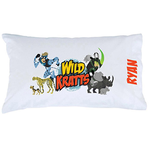 Personalized Wild Kratts Creature Power Pillowcase