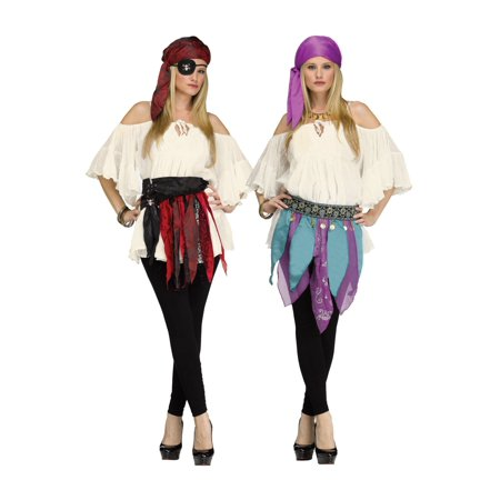 Fortune Teller or Pirate Women Costume Kit. (Fortune Teller Halloween Decoration)