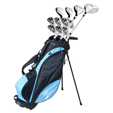 Palm Springs Golf VISA V2 LADY ALL GRAPHITE -1 Inch Club Set & Stand