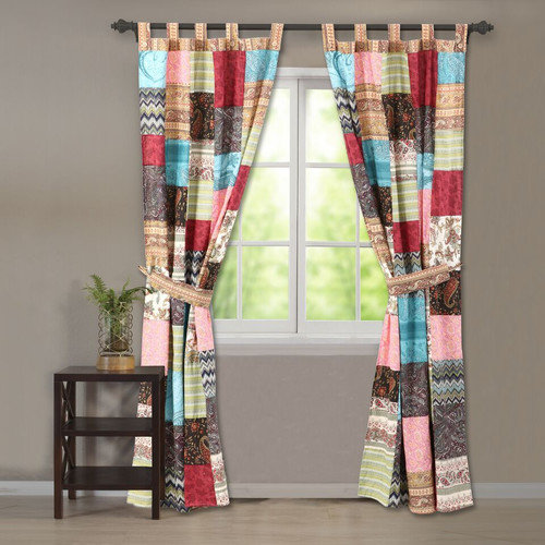 Greenland Home Fashions New Bohemian Window Panel (Set of 2)