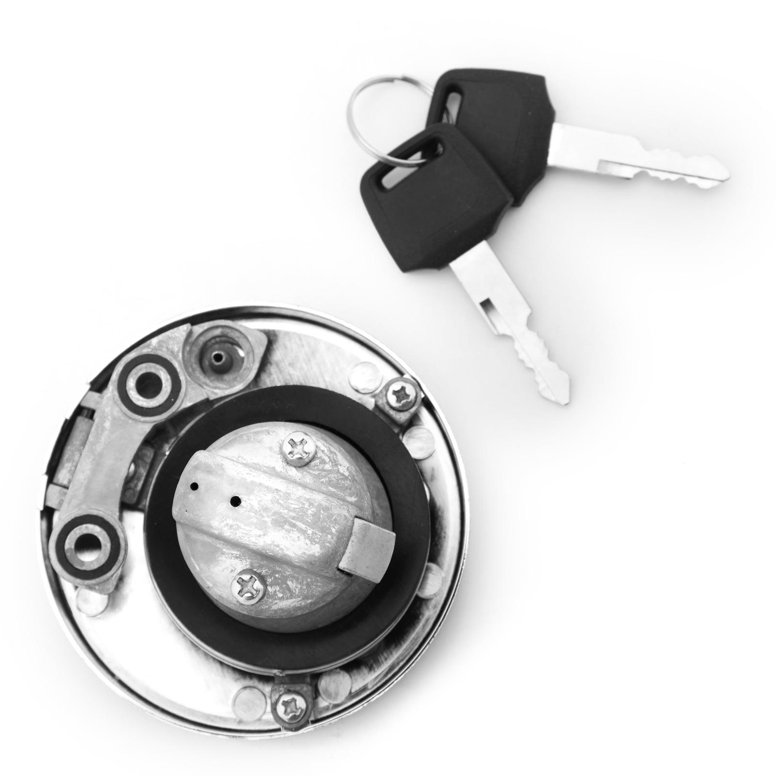 For Kawasaki VN800 Vulcan 800 EN500 Vulcan 500 VN1500 Vulcan 1500 VN400 EJ400 EJ650 kawasaki w650 EJ800 VN1500 fuel cap vulcan key Gas Locking Cap Fuel Gas Tank Locking Cap Lid Cover Keys
