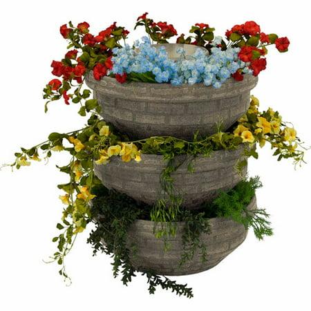 English Composting Garden, Sandstone, 3-Pack