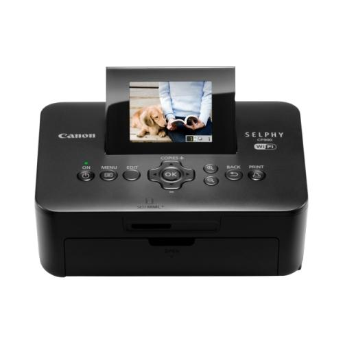 "Canon SELPHY CP900 Dye Sublimation Printer - Color - Photo Print - Portable - 2.7"" Display - Black 2PU9498"