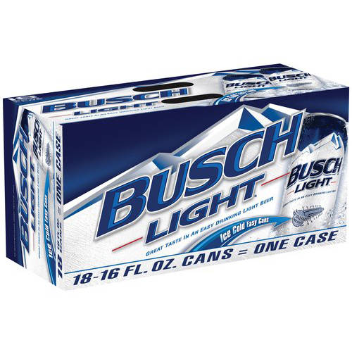 Busch Light Beer, 18 pk 16 fl. oz. Cans
