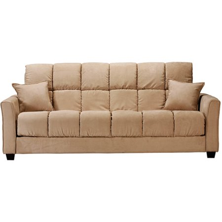baja convert a couch futon sofa bed khaki