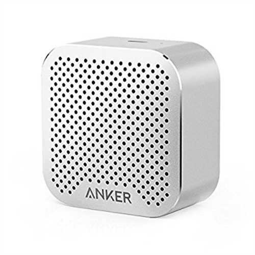 Anker SoundCore nano Bluetooth Speaker with Big Sound, Super-Portable Wireless Speaker with Built-in Mic for iPhone 7, iPad, Sam