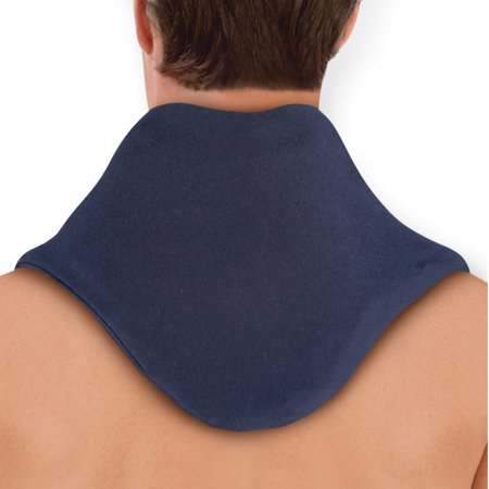 - Therapeutic Hot or Cold Gel Neck Collar to Reduce Swelling and Ease Pain, Versatile and Adjustable, One Size, Blue