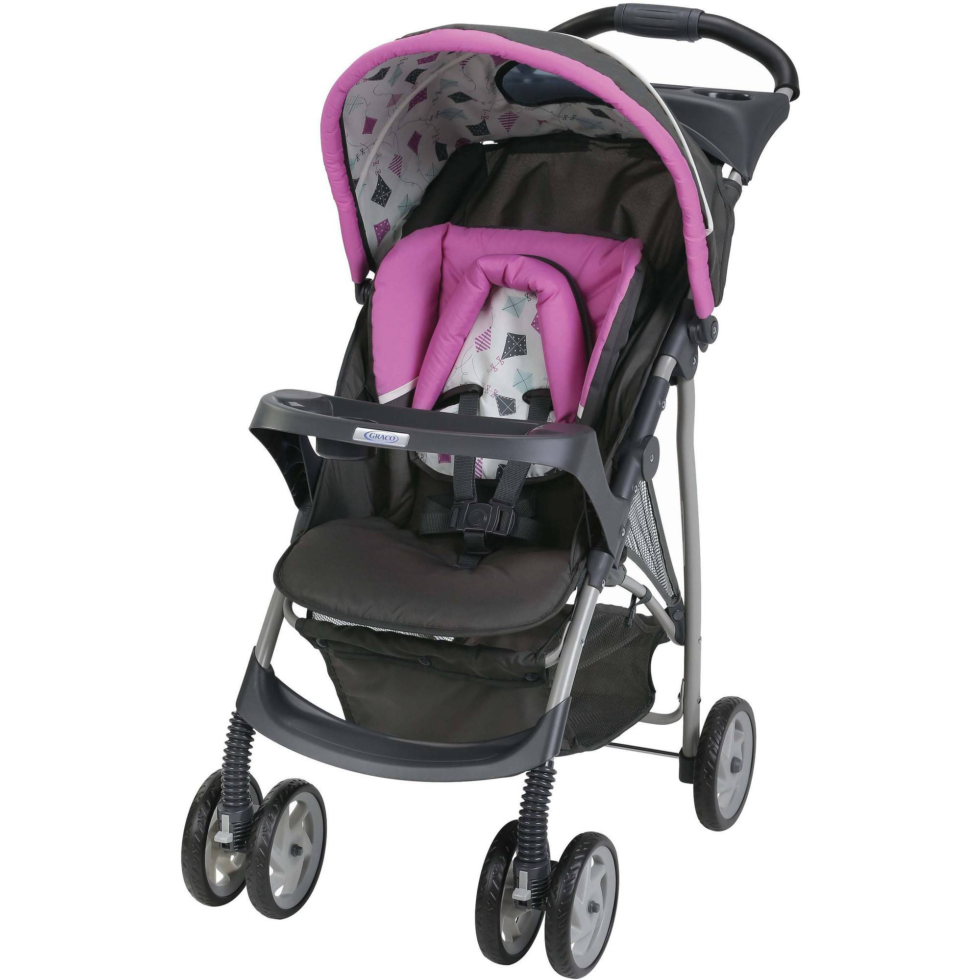 Graco LiteRider Click Connect Lightweight Stroller, Kyte