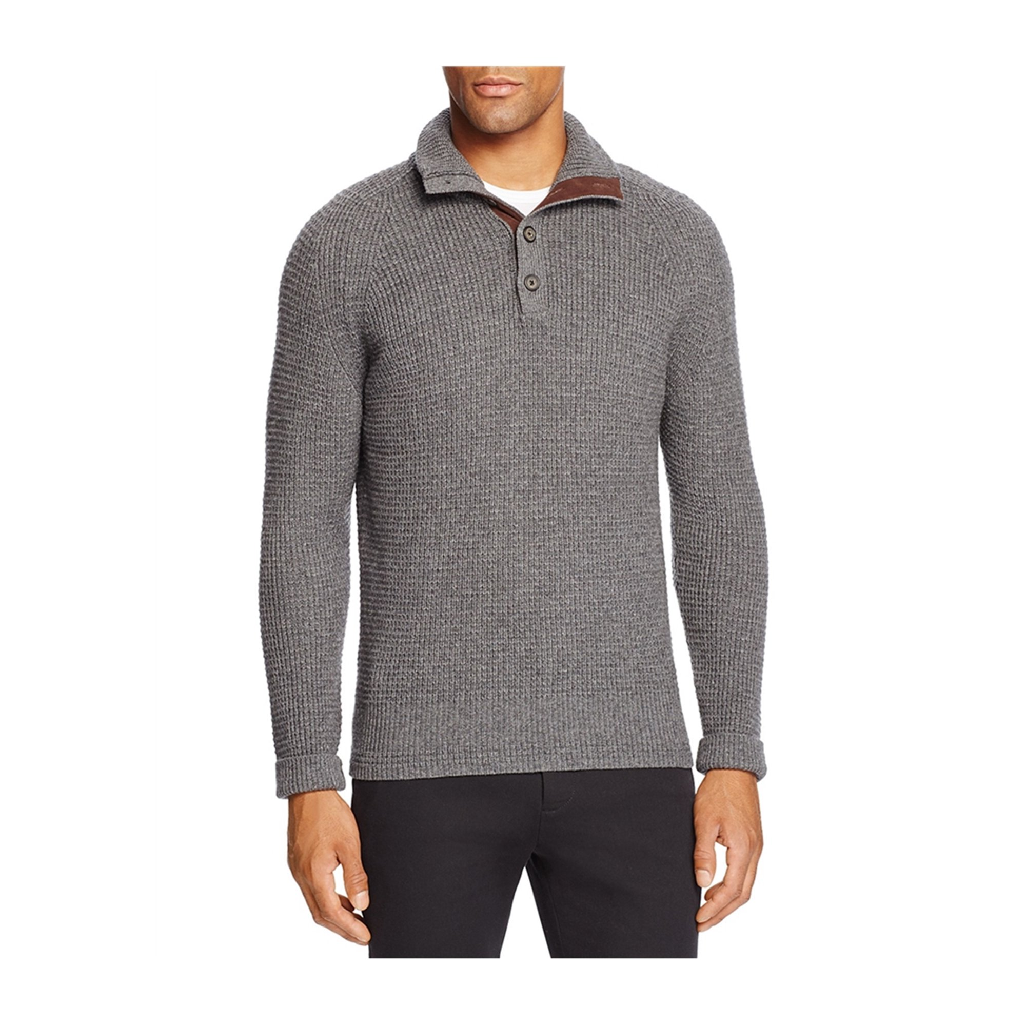 Bloomingdale's Mens Cashmere Blend Pullover Sweater