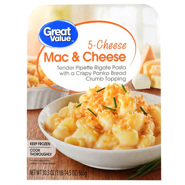 Great Value 5-Cheese Mac & Cheese, 30.5 oz