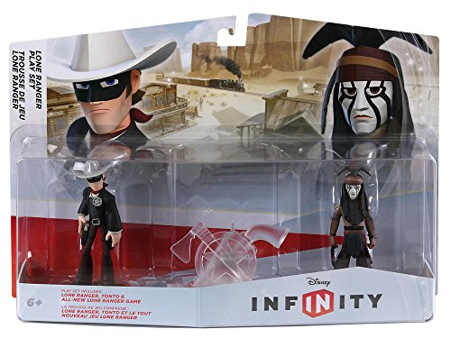"New Lone Ranger Play Set by Disney Infinity Works with ""Play Set"" Game Mode by"
