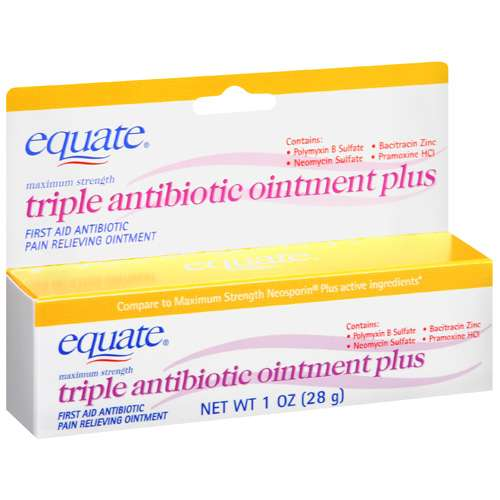 Equate Triple Antibiotic Plus