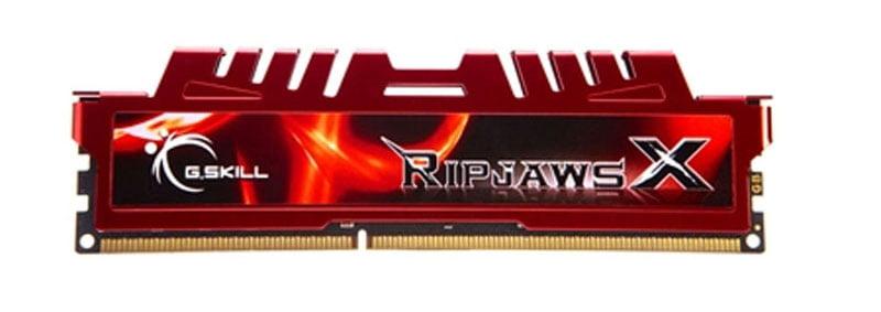 G.Skill F3-12800CL10S-8GBXL Ripjaws X 8GB (1x8GB) DDR3-1600MHz Memory RAM