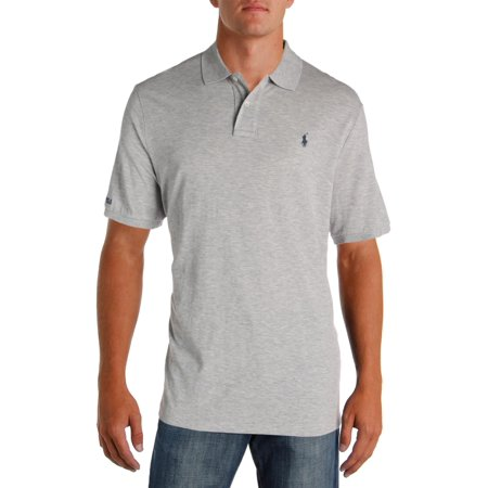 Ralph Lauren Mens Embroidered Cotton Rugby Polo Shirt