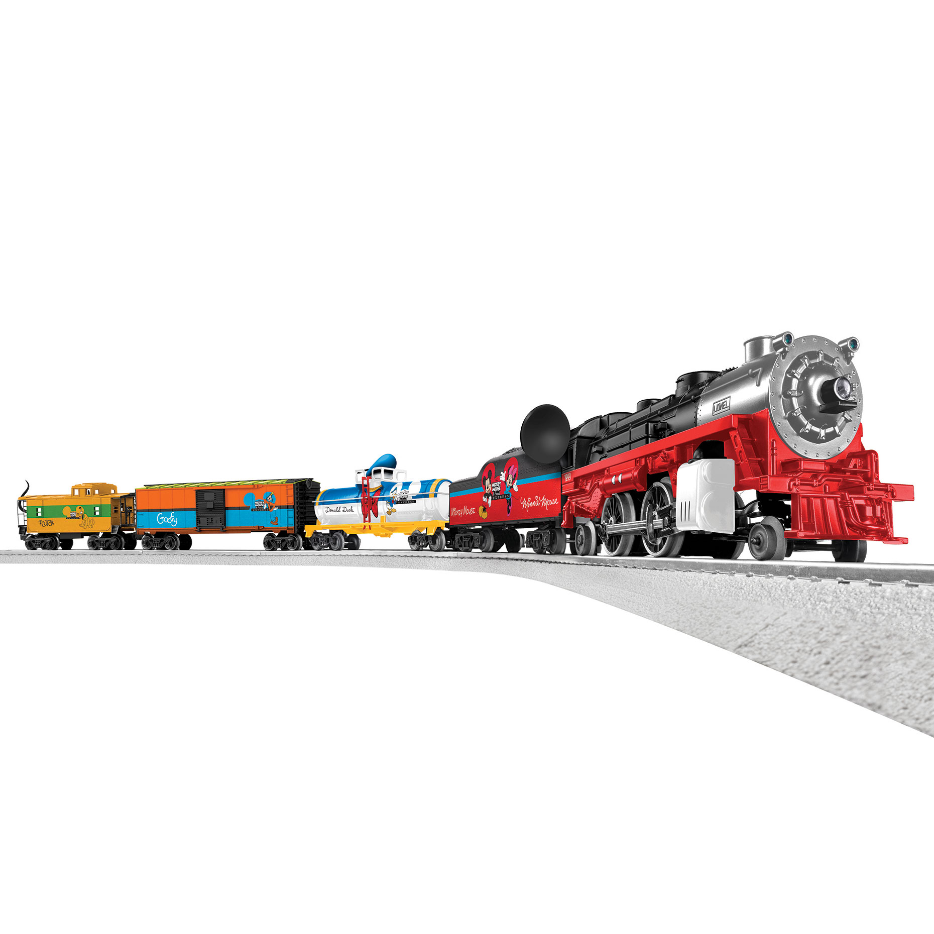 Lionel Trains Mickey Mouse & Friends LionChief Ready To Run Bluetooth Train Set by Lionel Trains