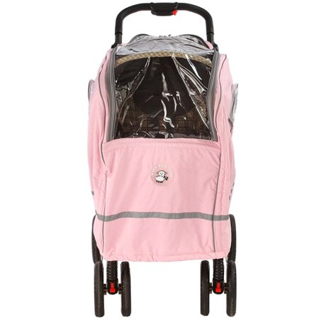 Warm as a Lamb - Single Stroller Winter Coat Cover, Pink