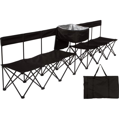 10 Portable 6 Seater Folding Team Sports Sideline Bench