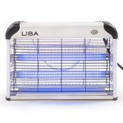 Bug Zapper & Electric Indoor Insect Killer by LiBa – Mosquito, Bug, Fly & Other Pests Killer – Powerful 2800V 20W Bulbs – Free 2-Pack Replacement Bulbs Included