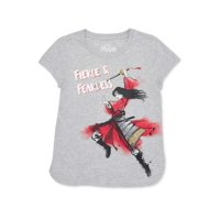 Disney Mulan Girls Exclusive 4-18 Fierce & Fearless Graphic T-Shirt