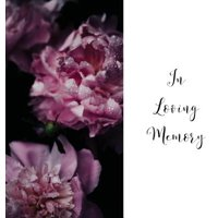 In Loving Memory Funeral Guest Book, Celebration of Life, Wake, Loss, Memorial Service, Condolence Book, Church, Funeral Home, Thoughts and In Memory Guest Book (Hardback)