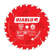 Diablo 5-3/8 in. Dia. x 10 mm Carbide Tip Steel Framing Blade 24 teeth 1 pc.