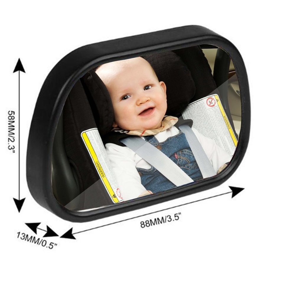 Universal Car Rear Seat View Mirror Baby Child Safety With Clip and Sucker by