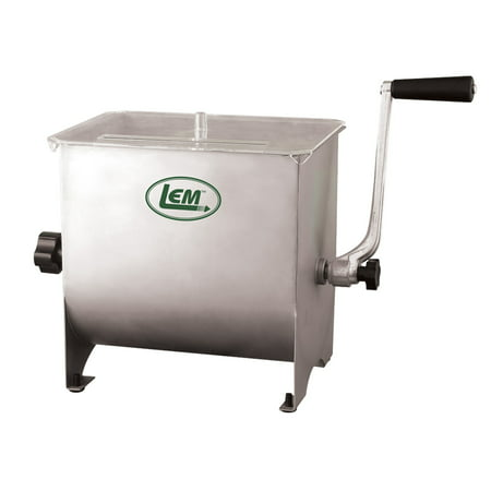 Mighty Bite 20lb Capacity Stainless Manual Mixer (Difference Between Mixer Grinder And Food Processor)