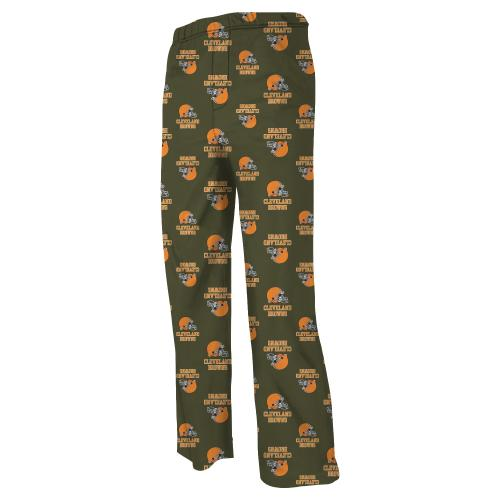 Cleveland Browns Youth NFL Logo Pajama Pants