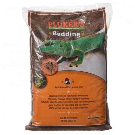 Reptile Bedding - Fluker's Loose Coconut Bedding, 10 Qt