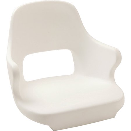 (Springfield Yachtsman II Rotational Molded Seat with Mounting Plate)