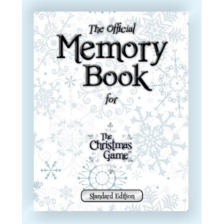The Official Memory Book for the Christmas Game (Standard Edition) - Pep Assembly Games