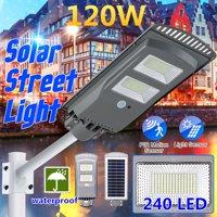 60/120W/160W Solar Street Light PIR Motion Sensor Outdoor Garden Wall Lamp for Park,Garden,Courtyard,Street,Walkway