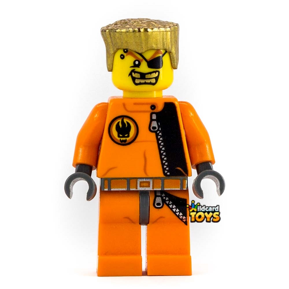 LEGO Agents Gold Tooth LEGO Minifigure