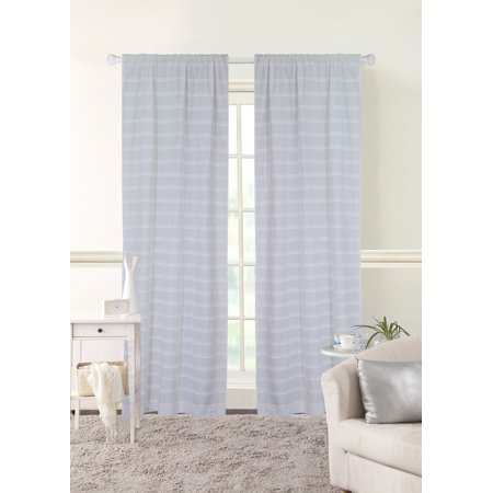 Better Homes and Gardens Ruffle Stripe Curtain Panel