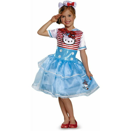Hello Kitty Sailor Deluxe Tutu Child Dress Up / Role Play Costume
