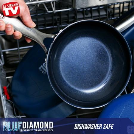 Blue Diamond 20-Piece Ceramic Nonstick Cookware Set