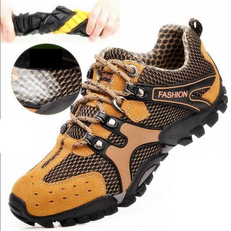 Men's Mountain Climbing Outdoor Hiking Shoes (Best Shoes For Mountain Hiking)