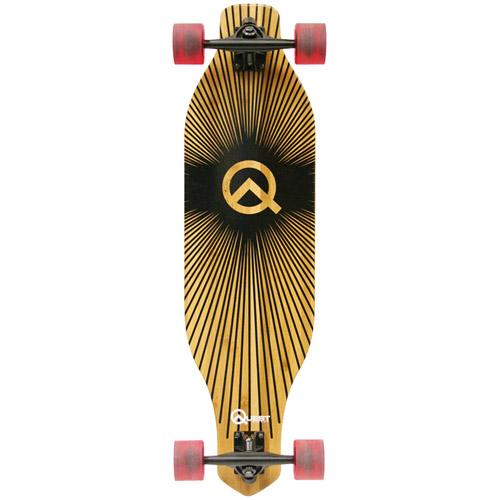 "Quest 35"" Grand Prix Bamboo Performance Longboard Skateboard"
