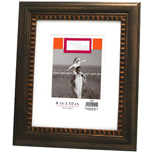 "Better Homes and Gardens Bronze Ornate Picture Frame, 8"" x 10"""