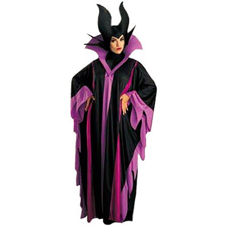Maleficent Deluxe Adult Halloween Costume, One Size: 12-14](Maleficent Costume For Women)