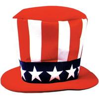b8df8fd5d2b Product Image Uncle Sam Foam Hat Adult Halloween Accessory