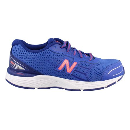 new balance boys' 680v5 running shoe, pacific/dynomite (Shoes New Balance For Boys)