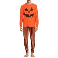 Deals on Derek Heart Jack-O-Lantern Matching Halloween Sleepwear Sets