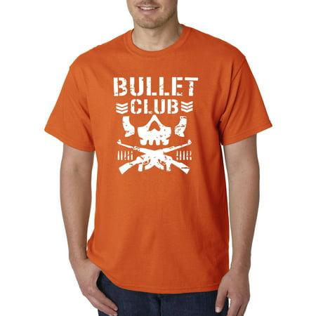 Trendy USA 786 - Unisex T-Shirt Bullet Club Skull Bone Soldier Japan Pro Wrestling Large