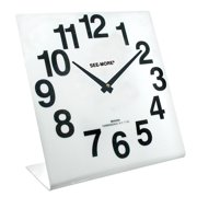 Reizen Giant View Clock- White Face