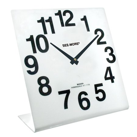 Giant Flip Clock - Reizen Giant View Clock- White Face