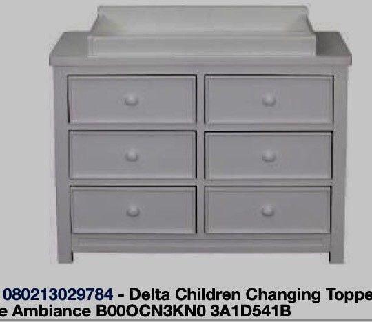 Delta Children Changing Topper