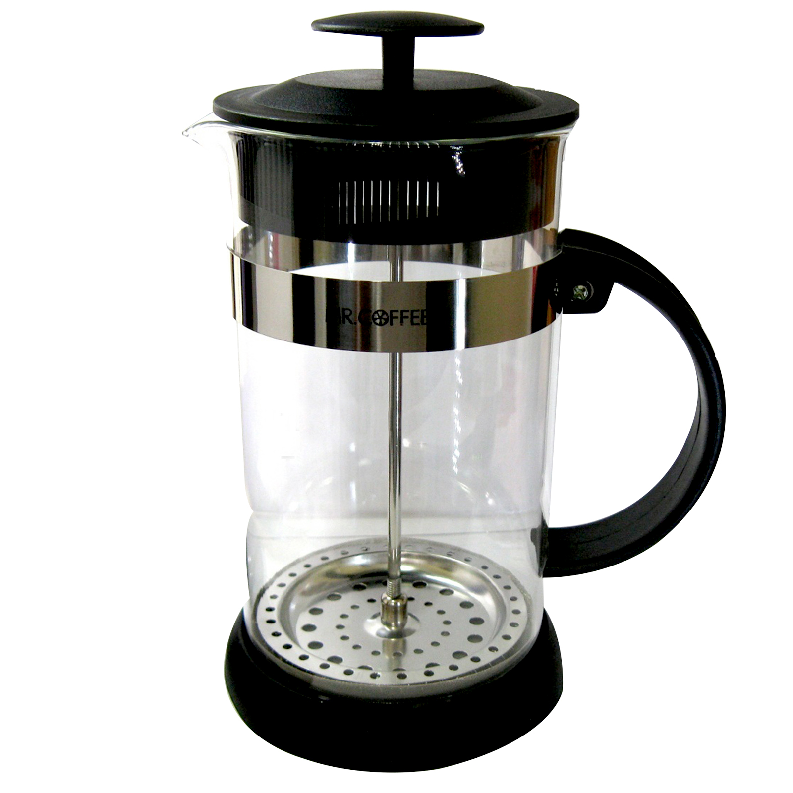 Cafe Oasis 1.1 Qt. Glass Body Coffee Press