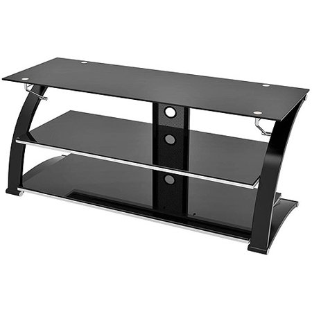 Solo Television Stand, for TVs up to 60″, Black